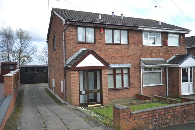 Thumbnail Semi-detached house for sale in Bridgnorth Grove, Mitchells Wood, Newcastle