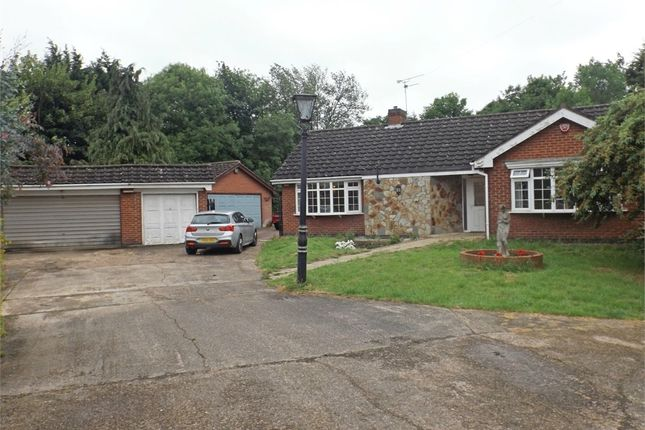 Thumbnail Detached bungalow for sale in Brookfield Street, Syston, Leicester