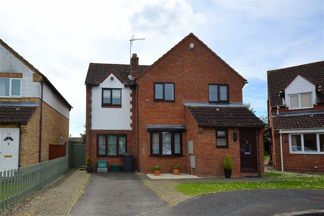 Thumbnail Detached house for sale in Water Wheel Close, Quedgeley, Gloucester