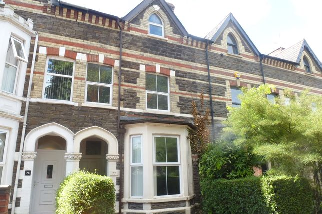 Thumbnail Terraced house for sale in Romilly Crescent, Canton, Cardiff