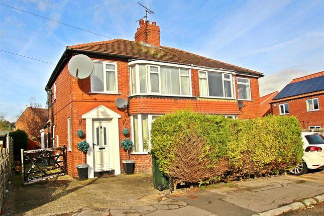 Thumbnail Semi-detached house for sale in 11 Maudon Grove, Norton, Malton