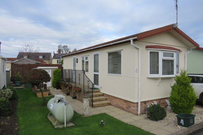 Thumbnail Mobile/park home for sale in Ivy House Park, Henlade, Taunton