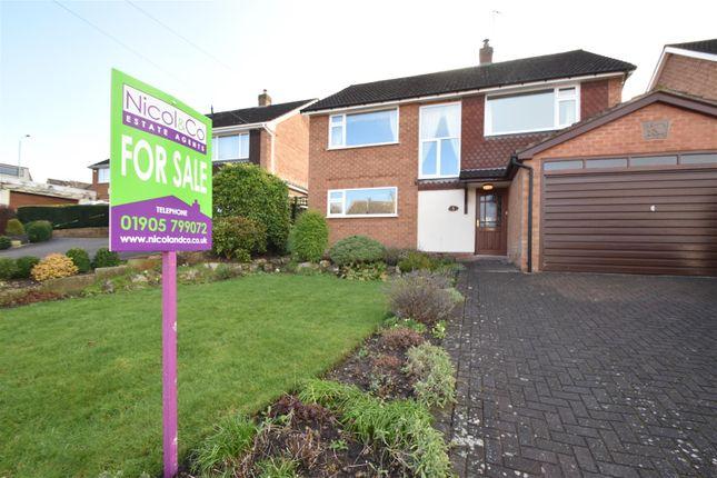 Thumbnail Detached house for sale in Bainbrigge Avenue, Droitwich