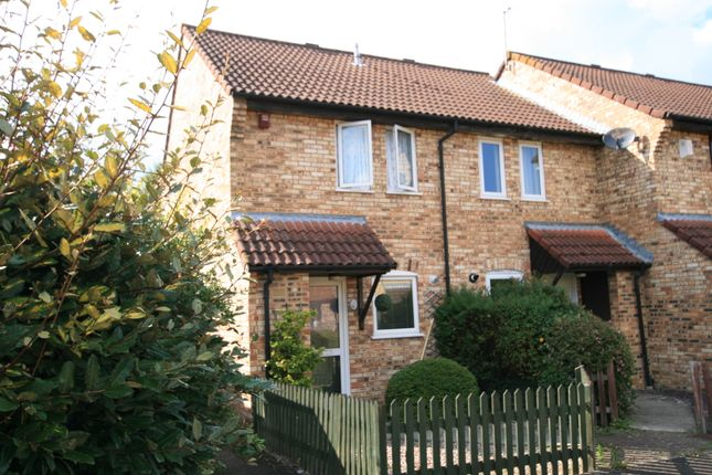 Thumbnail End terrace house to rent in Oxen Lease, Heron Walk, Ashford, Kent