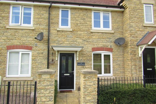 2 bed terraced house to rent in Bullfinch Road, Bishops Cleeve, Cheltenham GL52