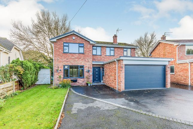 Thumbnail Detached house for sale in Newcastle Road South, Brereton, Sandbach, Cheshire