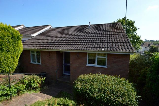 Thumbnail Bungalow for sale in Prince Of Wales Road, Crediton, Devon