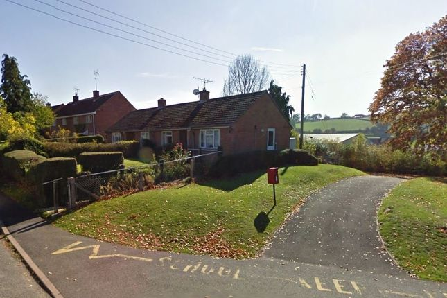 Thumbnail Semi-detached bungalow to rent in Ford Street, Wigmore, Leominster