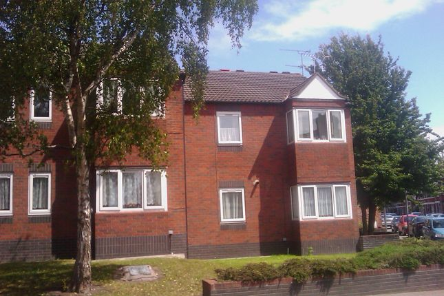 Thumbnail Flat to rent in Brydon Court, Wood Street, Crewe
