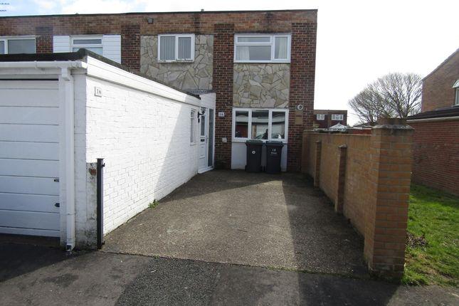3 bed end terrace house to rent in Inkpen Walk, Havant PO9