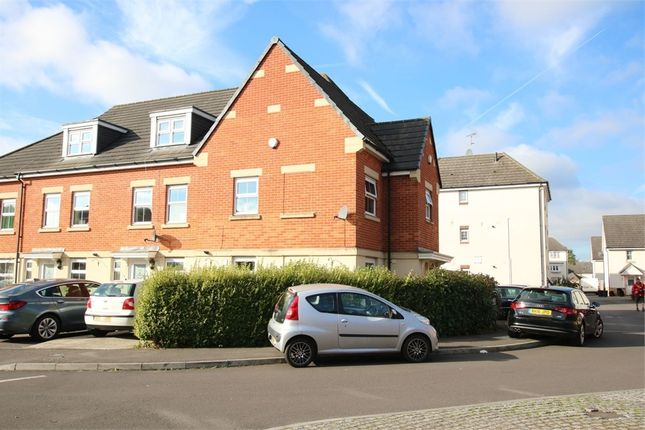 Thumbnail End terrace house to rent in Zenith Avenue, Shinfield, Reading, Berkshire