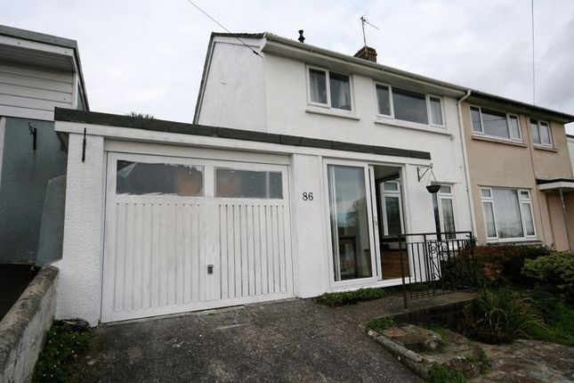 Thumbnail Semi-detached house to rent in Boslowick Road, Falmouth