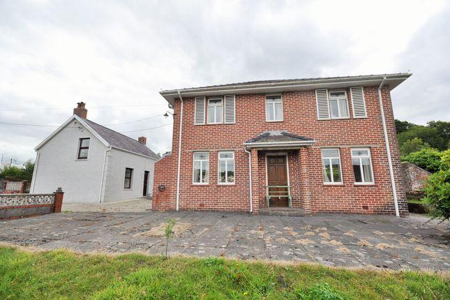 Thumbnail Detached house for sale in Heol Y Pentre, Pontyberem, Llanelli