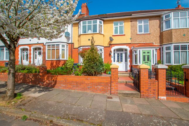 Thumbnail Terraced house for sale in Melrose Avenue, Cardiff