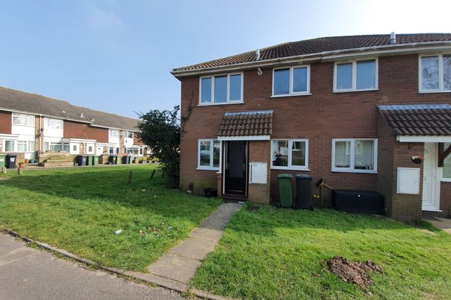 1 bed end terrace house to rent in Abraham Close, Botley, Southampton SO30