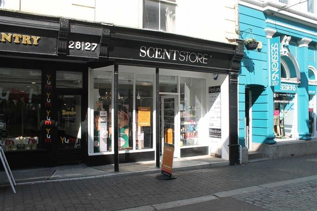 Thumbnail Retail premises for sale in Independent Fragrance Outlet, 27, Church Street, Falmouth