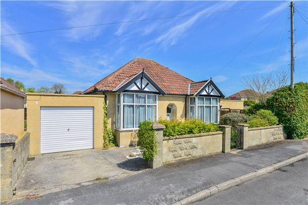 Thumbnail Detached bungalow for sale in Weatherly Avenue, Bath, Somerset