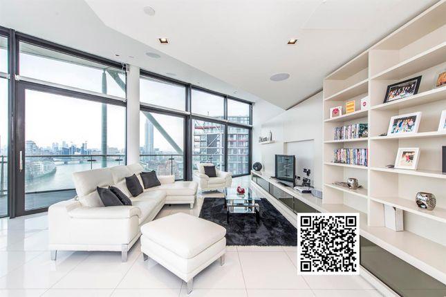 Thumbnail Flat to rent in 3 Riverlight Quay, Nine Elms, London