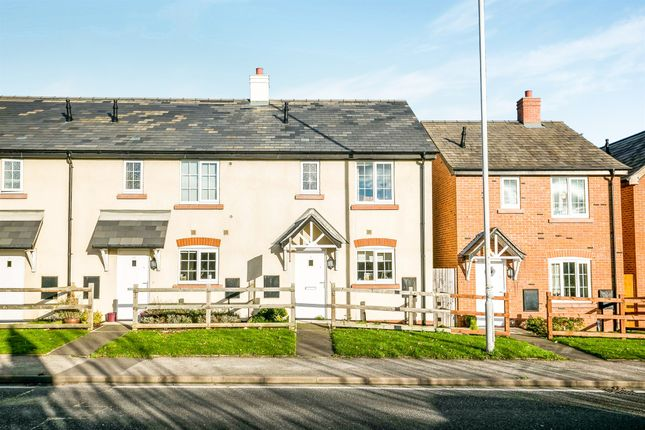 Thumbnail End terrace house for sale in Whitchurch Road, Christleton, Chester