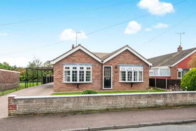 Thumbnail Detached bungalow for sale in Glebe Road, Weeting, Brandon