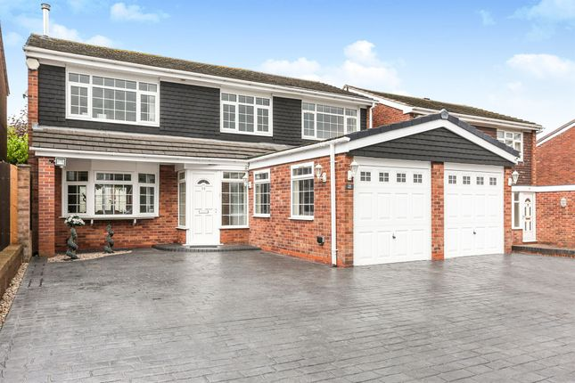 Thumbnail Detached house for sale in St. Cuthberts Close, West Bromwich