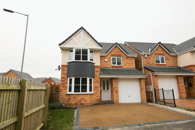 Thumbnail Detached house for sale in Holmes Wood Close, Winstanley, Wigan