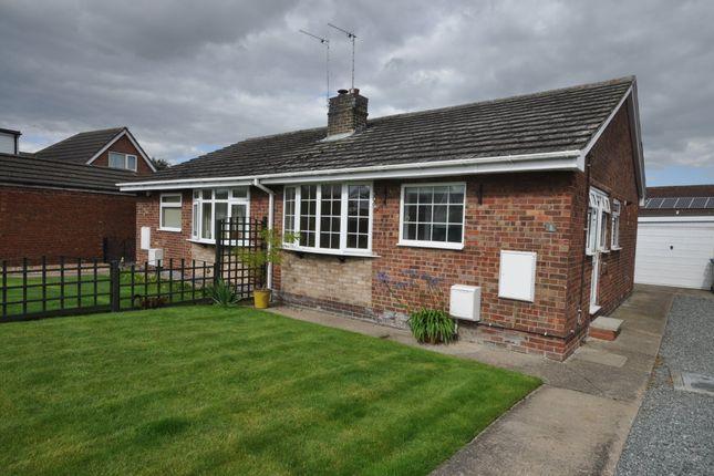 Thumbnail Semi-detached bungalow to rent in Croft Close, Eastrington, Goole