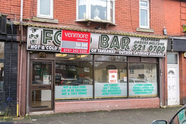 Thumbnail Restaurant/cafe to let in Longmoor Lane, Fazakerley, Liverpool