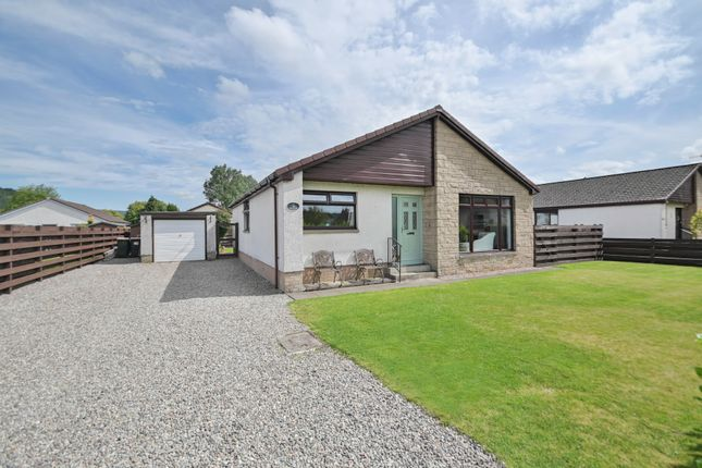 Thumbnail Detached bungalow for sale in Strowan Road, Crieff