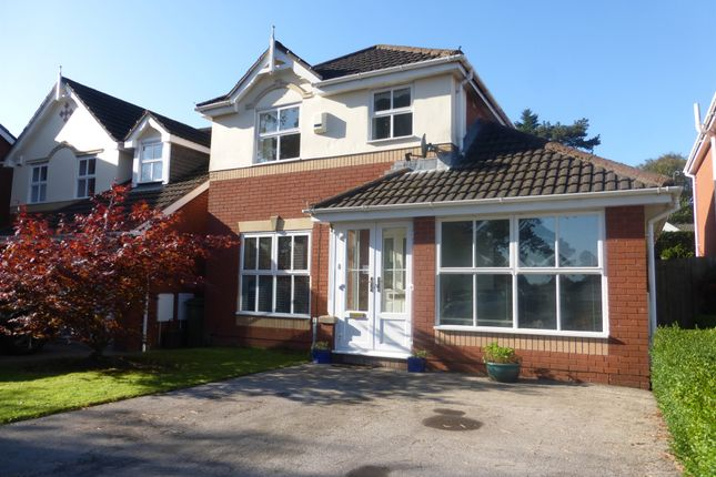 Thumbnail Detached house for sale in Gould Close, Old St. Mellons, Cardiff