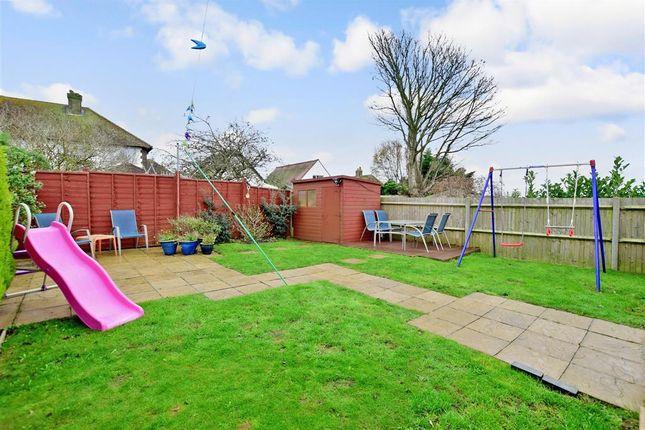 Rear Garden of Seaview Road, Woodingdean, Brighton, East Sussex BN2