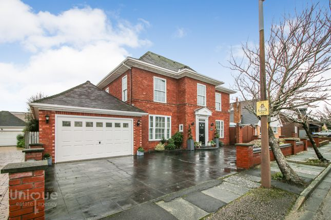 Thumbnail Detached house for sale in Holmefield Close, Thornton-Cleveleys