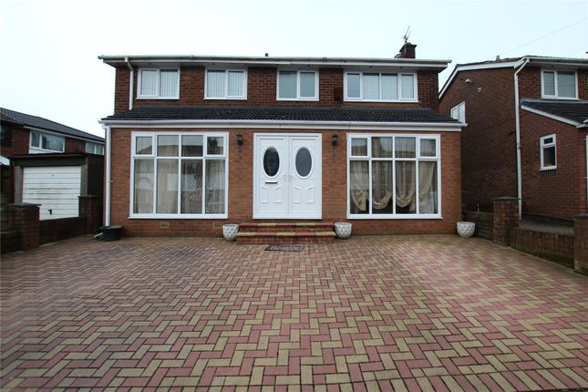 Thumbnail Detached house for sale in Stokesay Close, Hollins, Bury