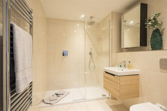 Typical Bathroom of Fleur De Lis, Yorktown Road, Sandhurst GU47