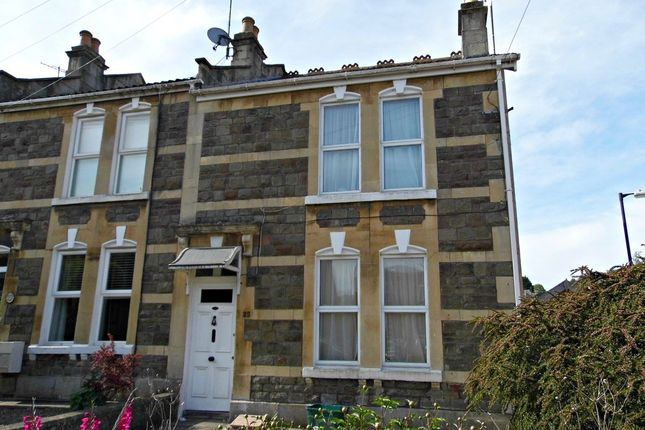 Thumbnail End terrace house for sale in Lymore Avenue, Oldfield Park, Bath