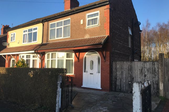 Thumbnail Semi-detached house for sale in Milford Drive, Manchester