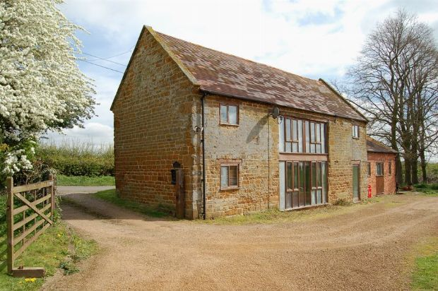 Thumbnail Barn conversion for sale in Brington Road, Long Buckby, Northampton