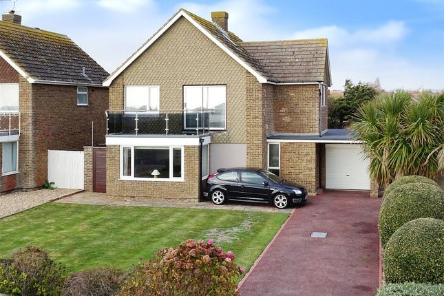 Thumbnail Detached house for sale in Marine Crescent, Goring-By-Sea, Worthing