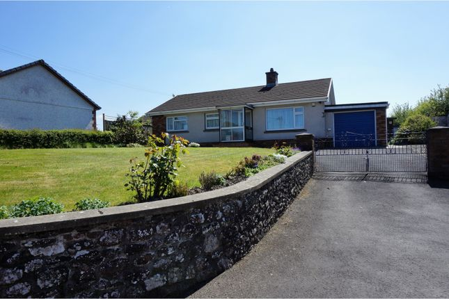 Thumbnail Detached bungalow for sale in High Street, Llangadog