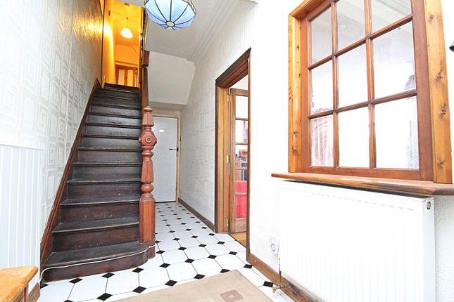 Hallway of Park Crescent, Treforest, Pontypridd, Rhondda Cynon Taff CF37