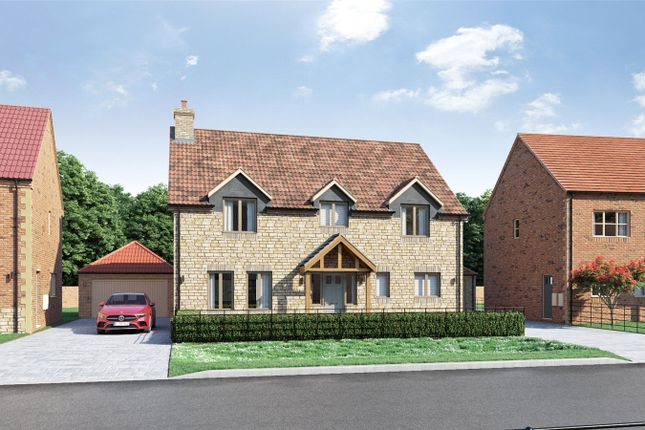 Thumbnail Detached house for sale in Plot 2, Cricketers Walk, 72 Scothern Road, Nettleham
