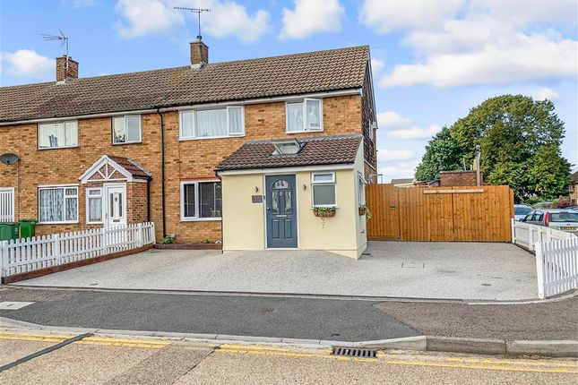 Thumbnail End terrace house for sale in Danbury Down, Basildon, Essex