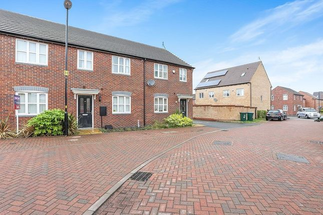 Thumbnail Terraced house to rent in The Carabiniers, Coventry