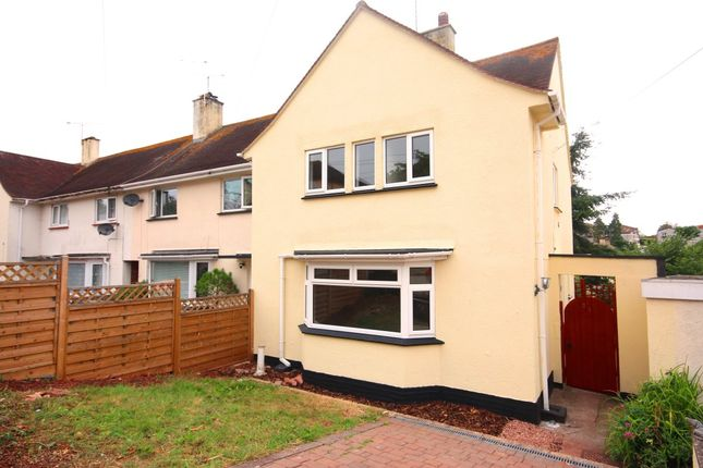 Thumbnail Terraced house to rent in Stanbury Road, Shiphay, Torquay