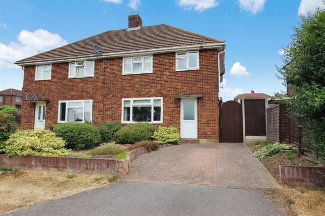 Thumbnail Semi-detached house for sale in Fairway, Nash Mills, Hertfordshire