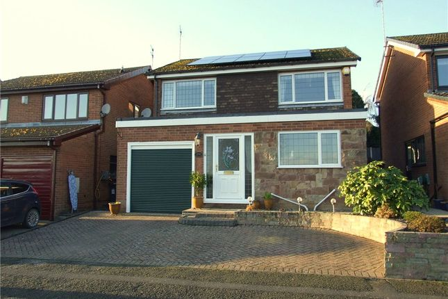 Thumbnail Detached house for sale in Lambourn Drive, Allestree, Derby