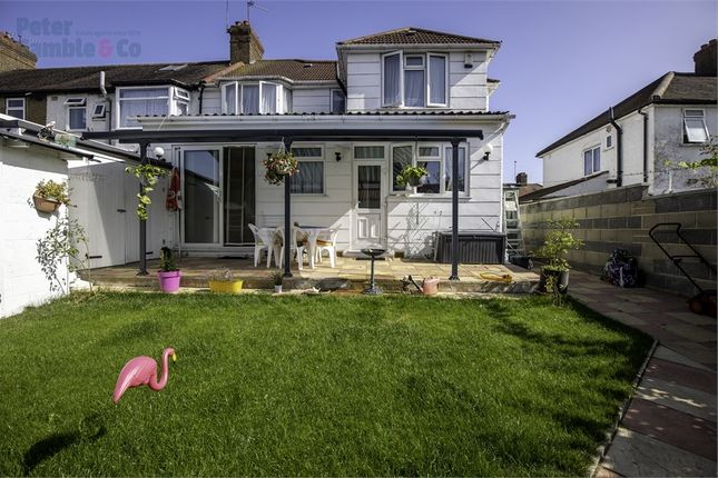 Thumbnail End terrace house for sale in Torrington Road, Perivale, Greenford, Greater London