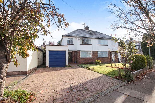 Thumbnail Semi-detached house for sale in Manton Drive, Luton