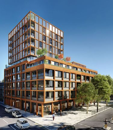Thumbnail Flat for sale in Hkr, Hackney Road