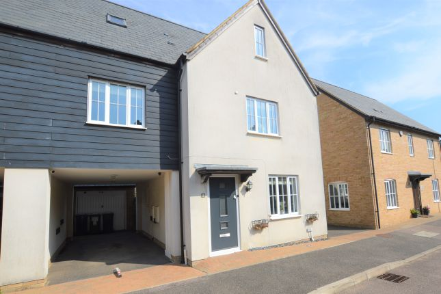 Thumbnail Town house for sale in Osier Way, Great Cambourne